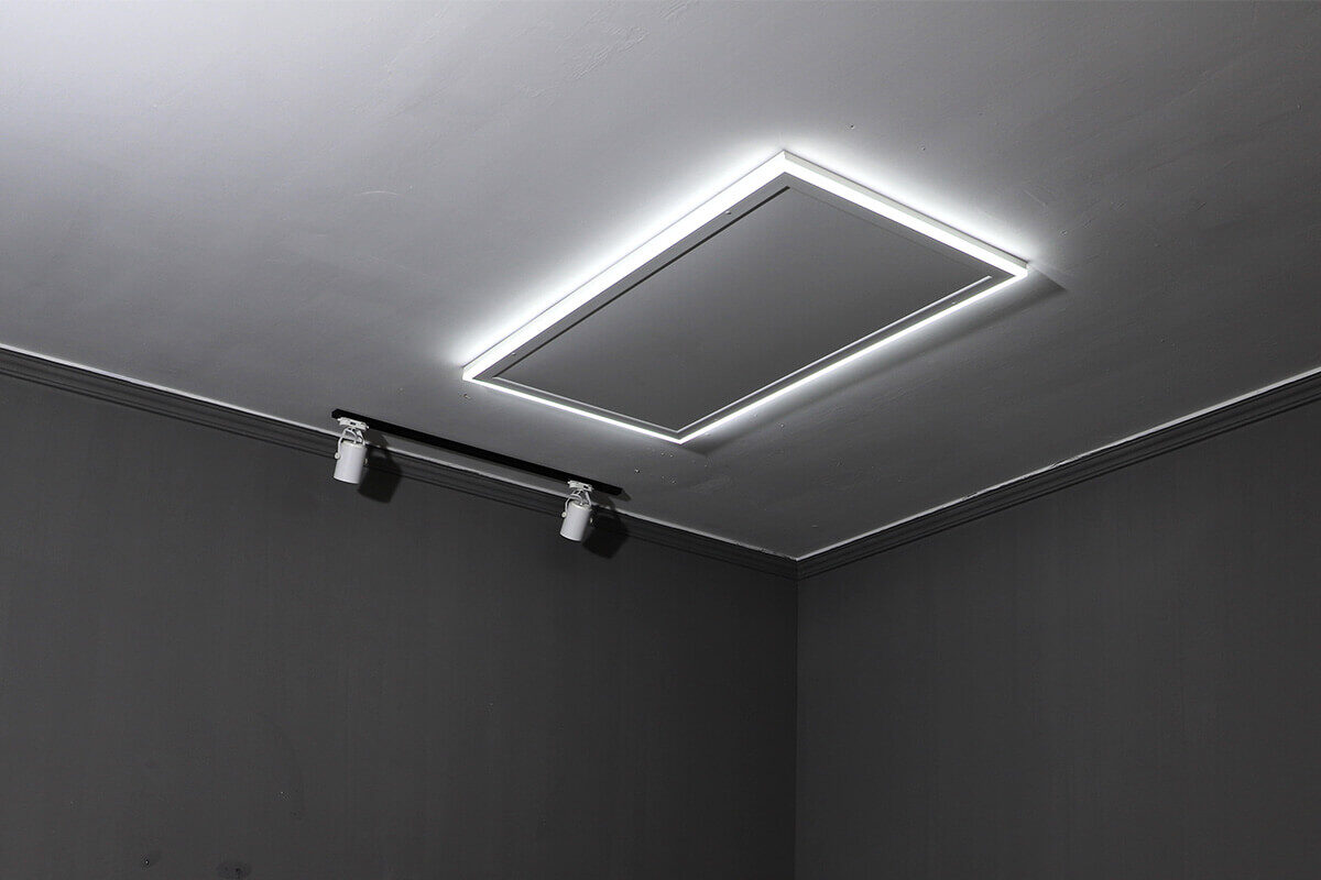 Ultra-thin on ceiling